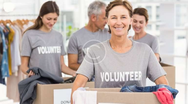 Volunteers Who Make  a Difference