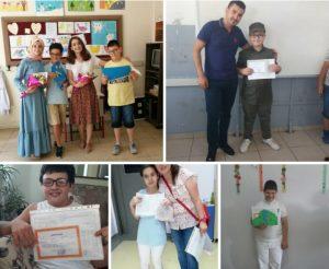 2018/2019 Eğitim ve öğretim yılında Özel Çocuklarımız karnelerini aldı.