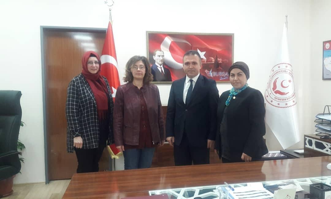 Bursa Aile Çalışma ve Sosyal İl Müdürlüğümüzün Engelliler Haftası planlama toplantısına katılım sağladık.